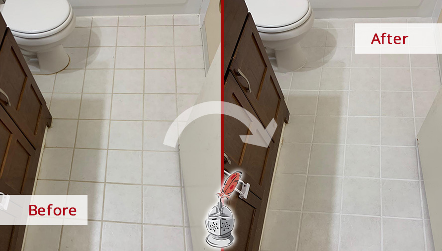 Our Tile And Grout Cleaners In Bellevue Wa Performed A
